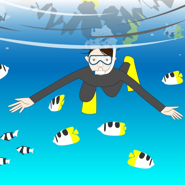 元ダイバーが選ぶ子どもに最適な西伊豆の海水浴場!シュノーケリングも楽しめる魚種の濃い厳選3ビーチ
