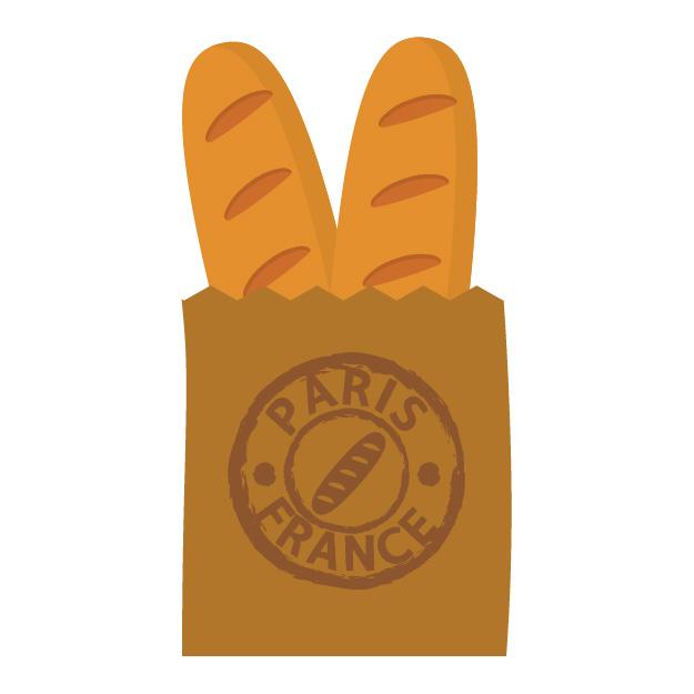 フランスパンは端っこだけで十分なくらいかたくて美味しいのに