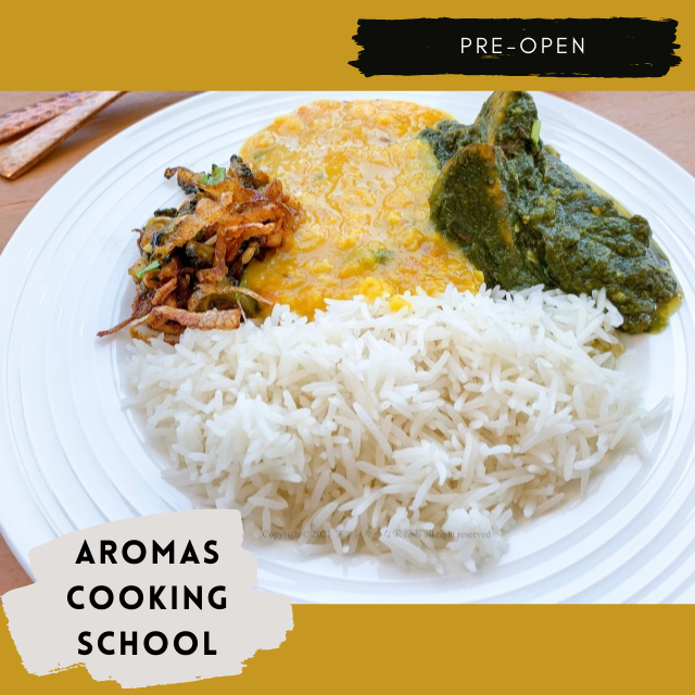 【楽食べ】アロマズクッキングスクールでインドの家庭料理を学ぶ